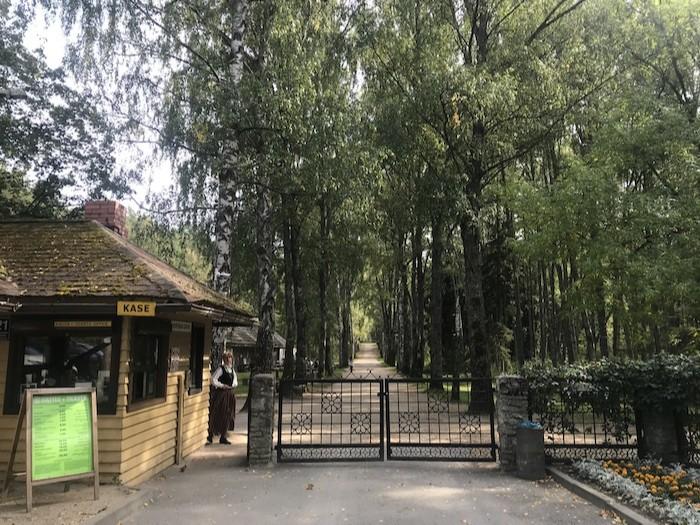 ラトビア野外民族博物館 行き方
