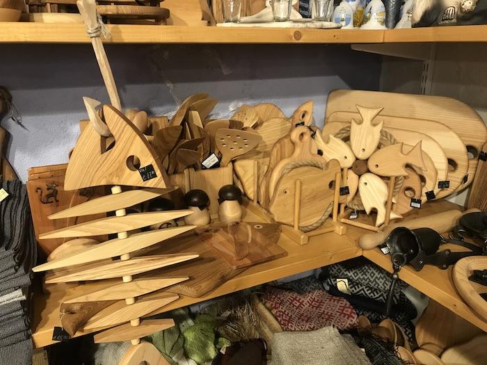 ラトビア お土産 木製品