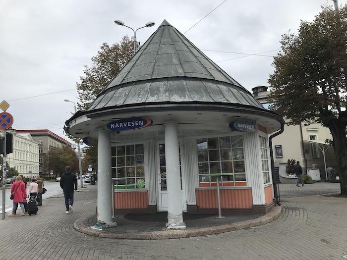 ラトビア リガ キオスク