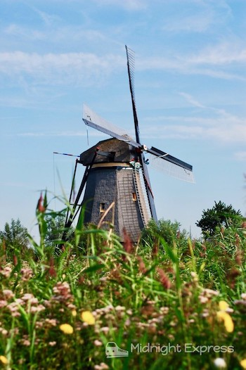 キンデルダイクの風車群