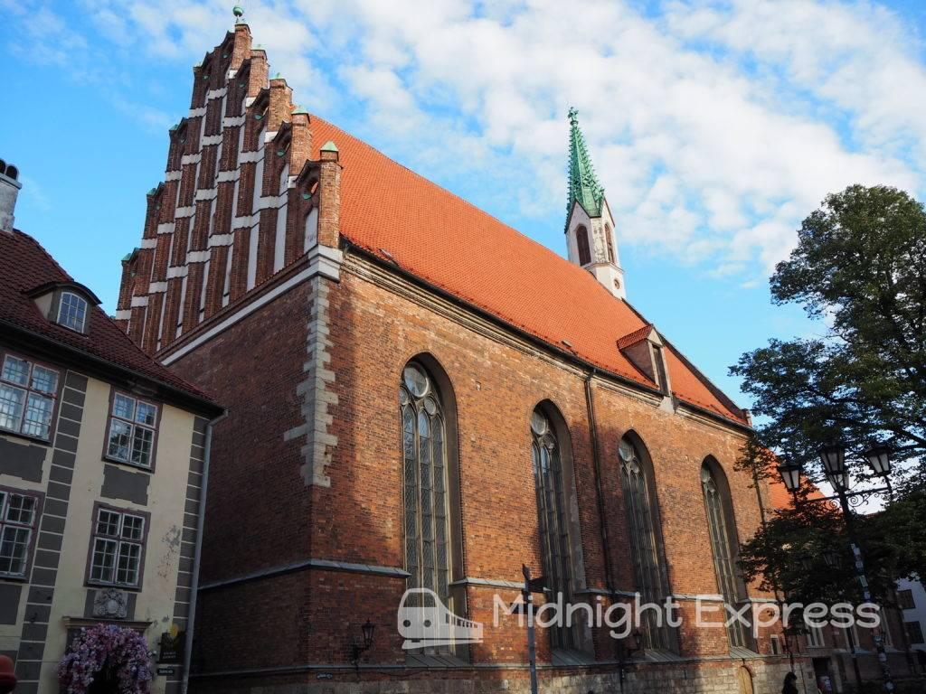 リガ 観光 聖ヨハネ教会