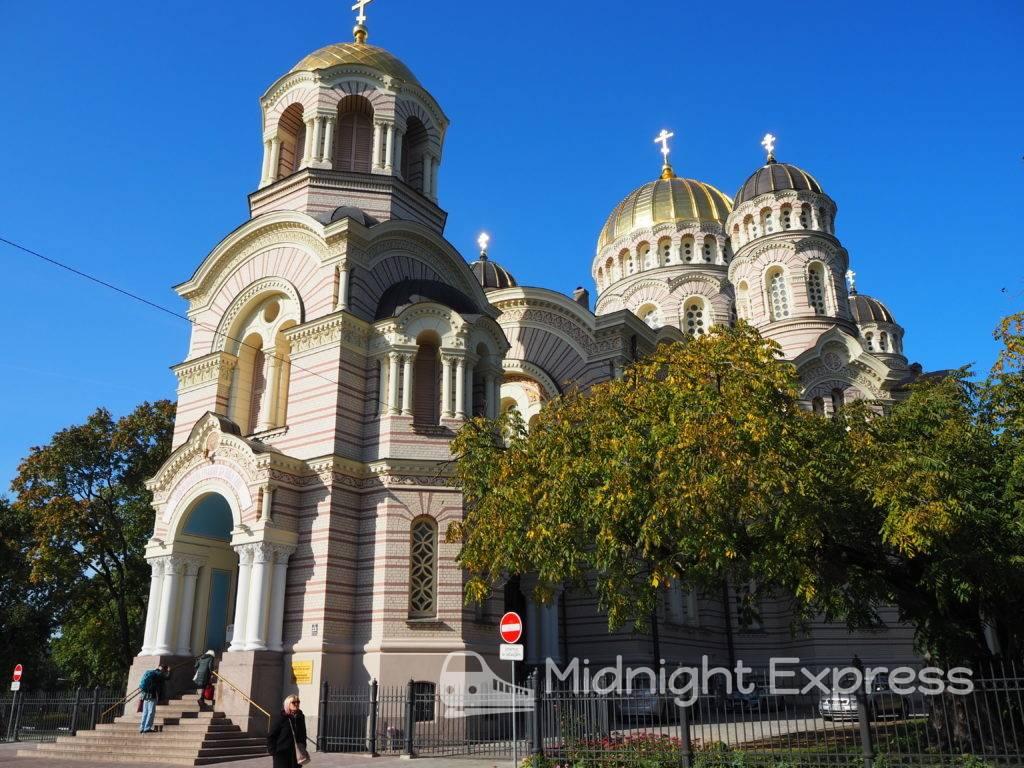 リガ 観光 救世主生誕大聖堂
