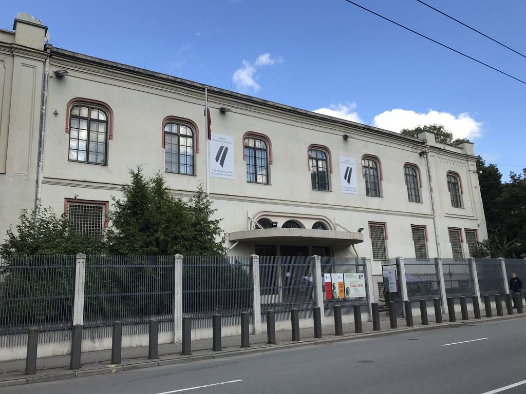 リガ 観光 ラトビア占領博物館