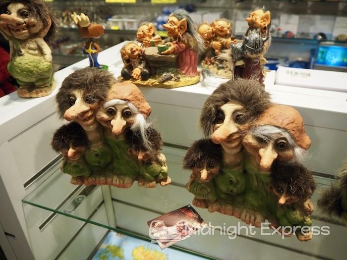 スウェーデンお土産 トロール人形