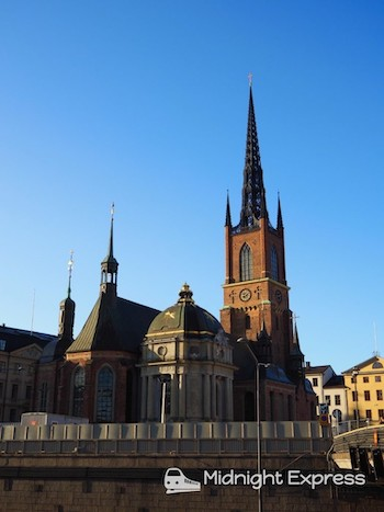 ストックホルム リッダーホルム教会