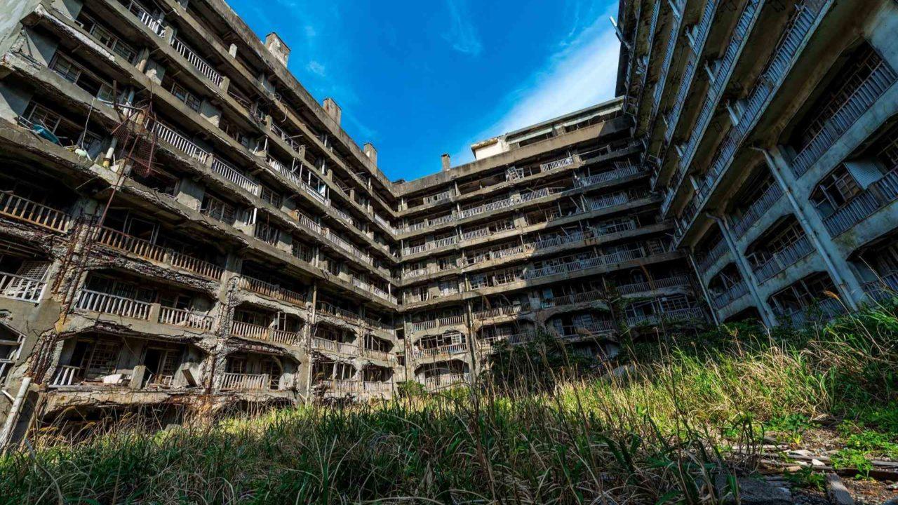 日本 廃墟 ノスタルジー