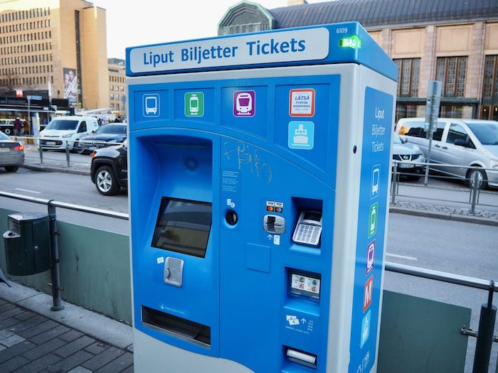 ヘルシンキ西港 ターミナル2 チケット