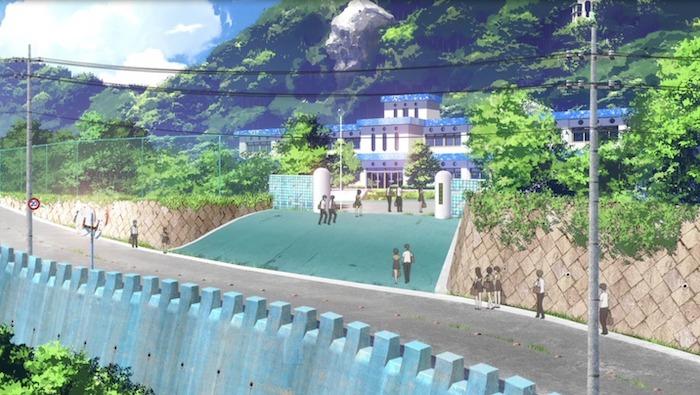 凪のあすから 聖地 美濱中学校