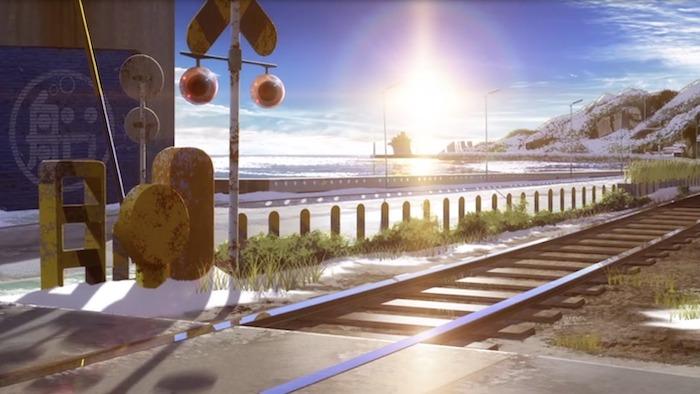 凪のあすから 聖地 造船所前踏切