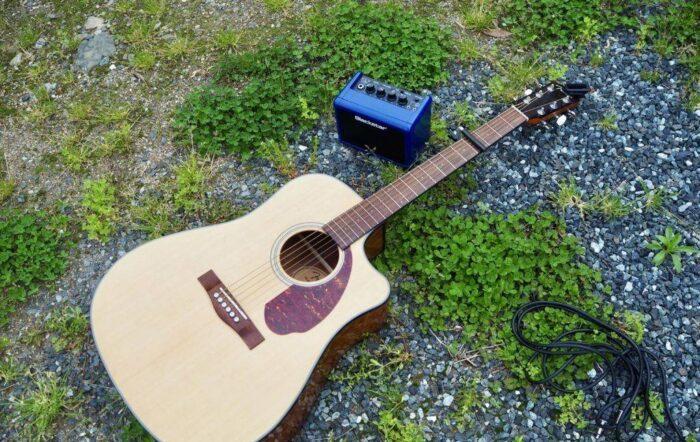 ギター 練習 外