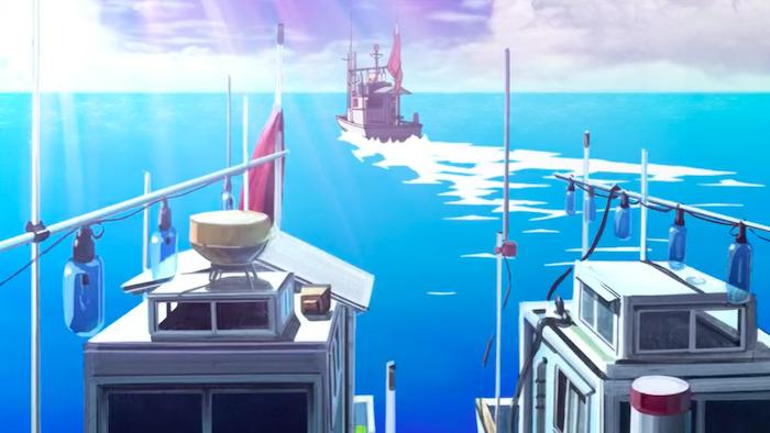 AIR 聖地 船置き場
