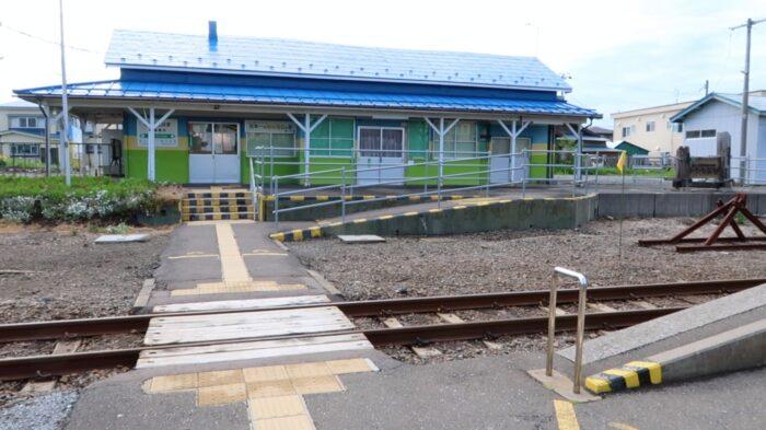 CLANNAD 聖地 青森 陸奥横浜駅